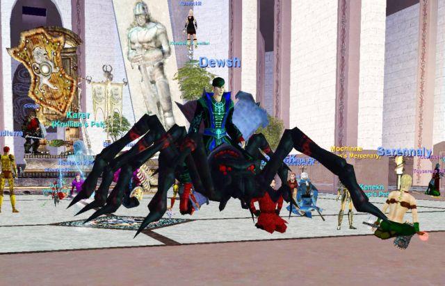 蜘蛛の乗り物