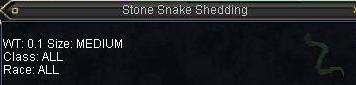 Stone Snake Shedding