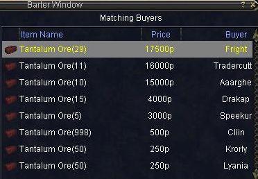 タンタル市場価格