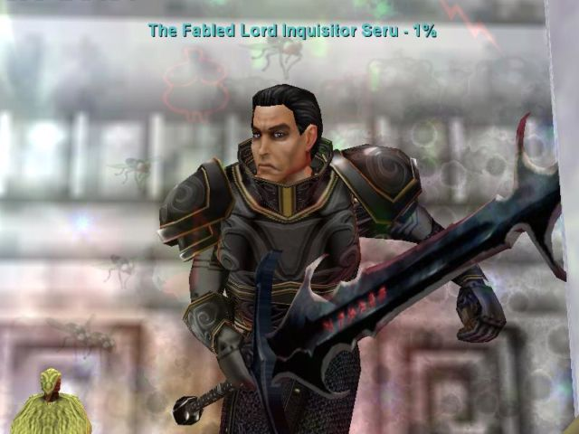 The Fabled Lord Inquisitor Seru