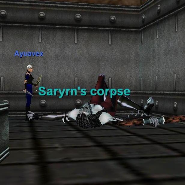Saryrn\'s corpse