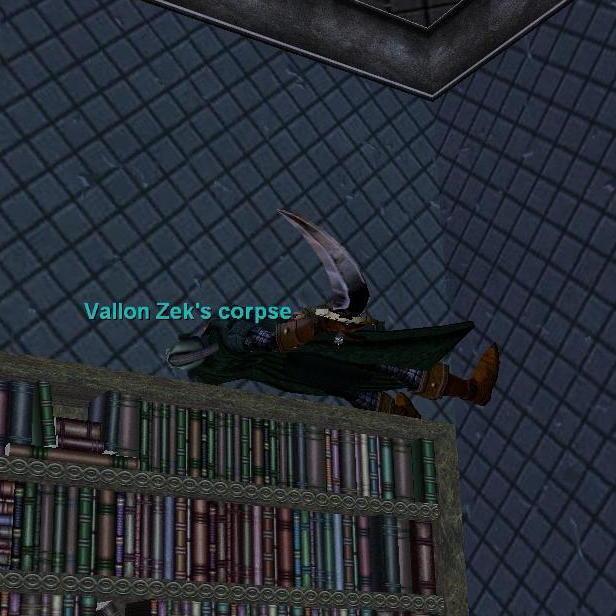Vallon Zek\'s corpse(本物)