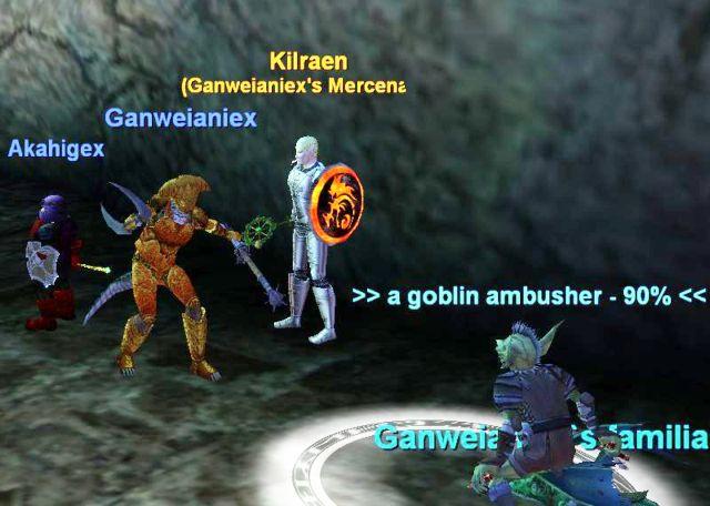 Goblinの工作員から難を逃れる