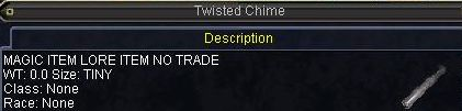 Twisted Chime(途中)