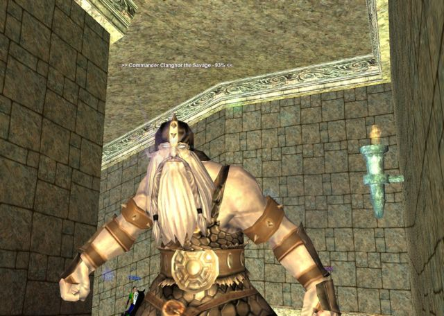 Commander Clanghor the Savage