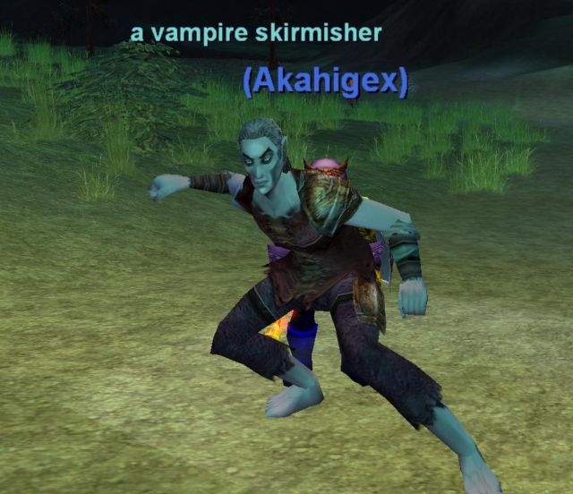 a vampire skirmisher