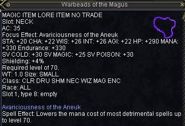 Warbeads of the Magus