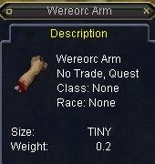 wereorc arm