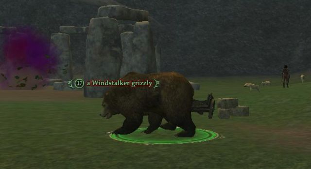 Windstalker grizzry出現