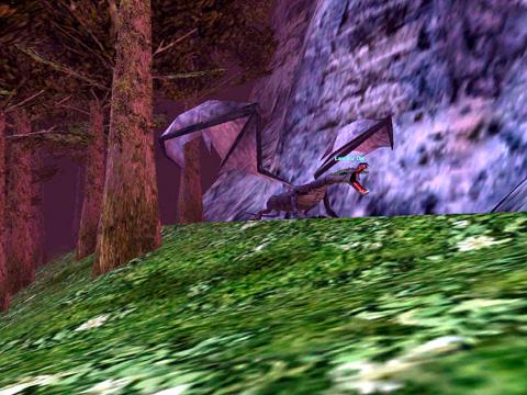 WLで見かけたドラゴン