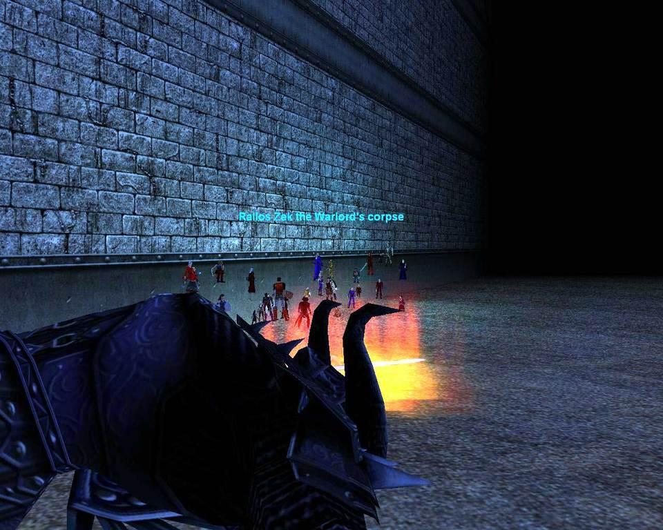Rallos Zek the Warlord's corpse