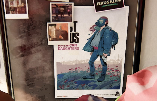 Uncharted 4のラストに出てくるThe Last of Us のポスターに隠された秘密
